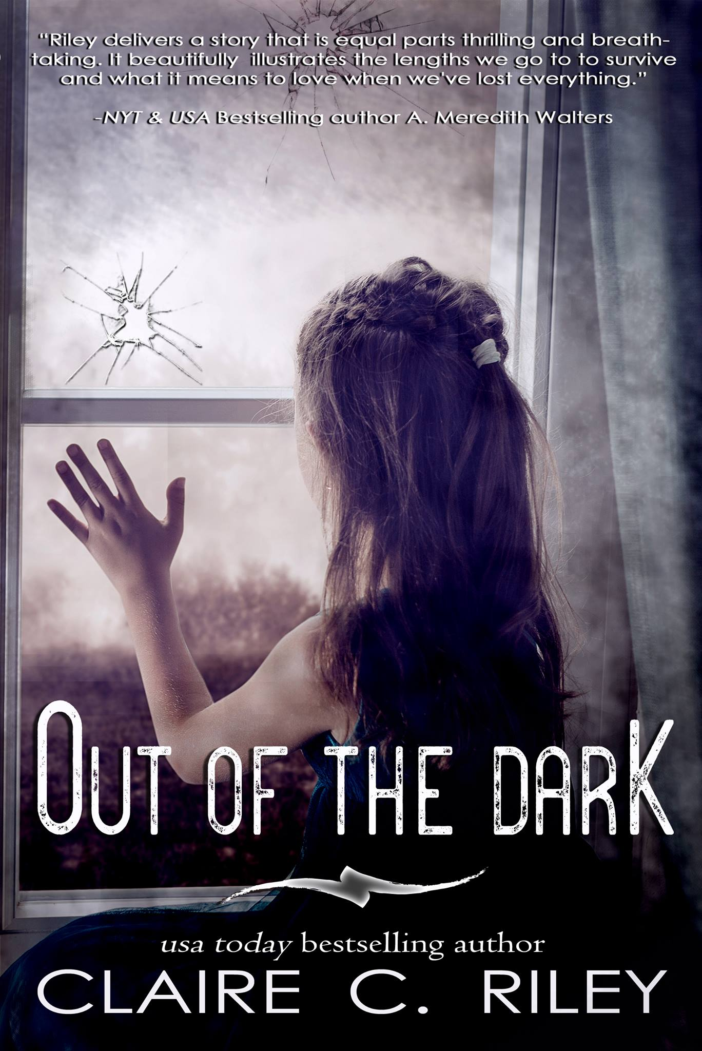 Cover Reveal: Out of the Dark by Claire C. Riley