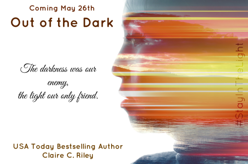 OUt of the dark teaser graphic text